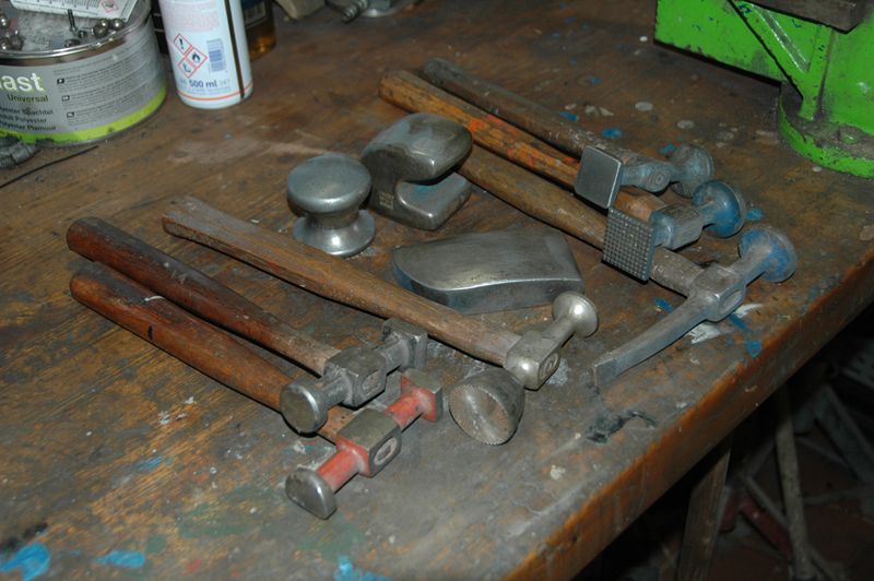 The Tools For Sheet Metal Work